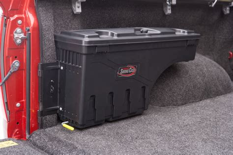 truck bed storage containers new undercover tonneau undercover swing case storage box