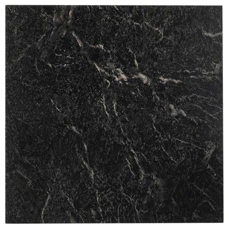nexus black   adhesive vinyl floor tile  tiles sqft walmartcom