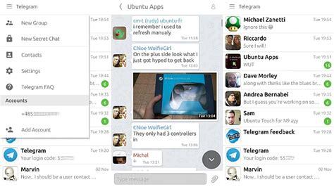 telegram for android telegram 2 0 4 0 for android ios and ubuntu telegram