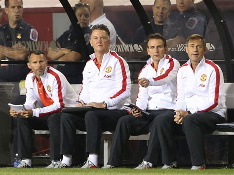 man utd bench louis van gaal quot winning against real madrid is always huge quot