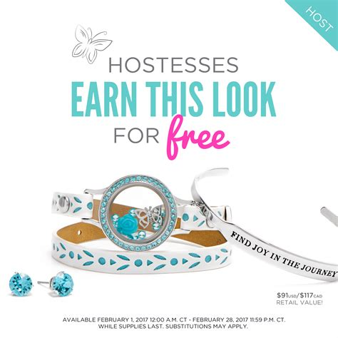 Hostess Exclusive Origami Owl - find in the february hostess exclusive