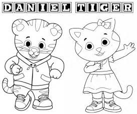 i disegni da colorare di daniel tiger gnius cinema