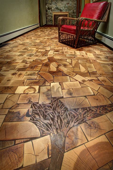 Cut Floors by Save The Ends Of Your Timber To Create Gorgeous End Grain