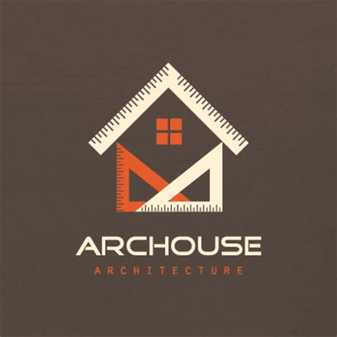 architecture design company geometric house architecture logo design gallery