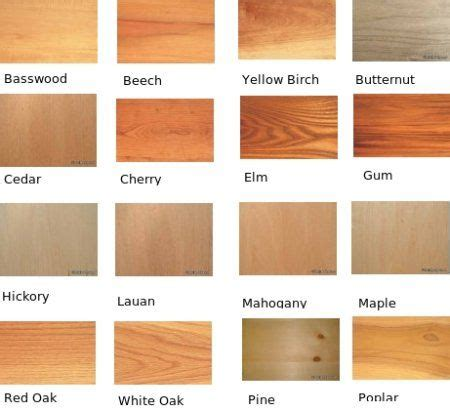 How To Tell What Type Of Wood Your Furniture Is identifying wood types check out the color and grain look of different types of wood nannas
