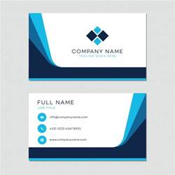 Business Cards Template by Business Card Template Vector Free