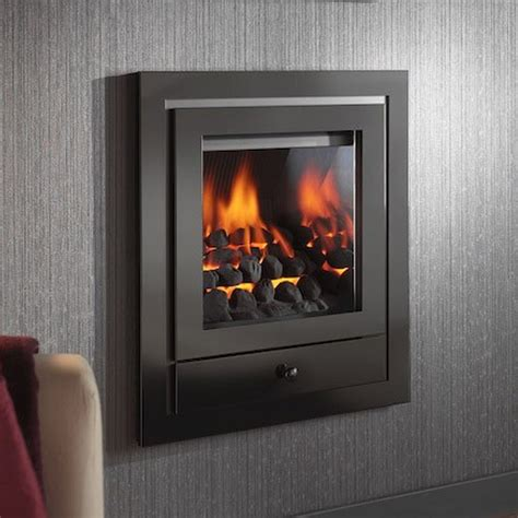 modern gas fires royale in the wall