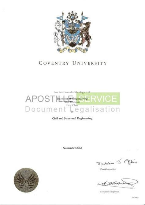 Free Mba Degree Uk by Uk Apostille Certificate Service Legalising Documents