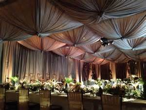 wedding reception draping draping for reception wedding ideas