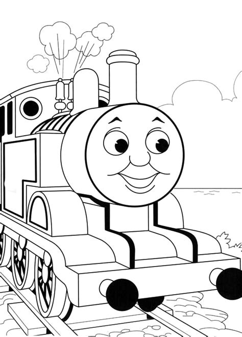 top printable coloring pages gt thomas the train gt thomas