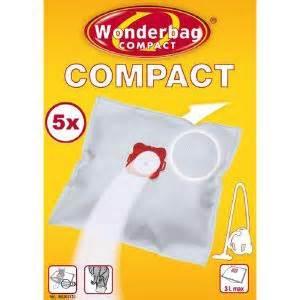 wonderbag wb305120 5 sacs compact pour aspirateurs comparer avec touslesprix