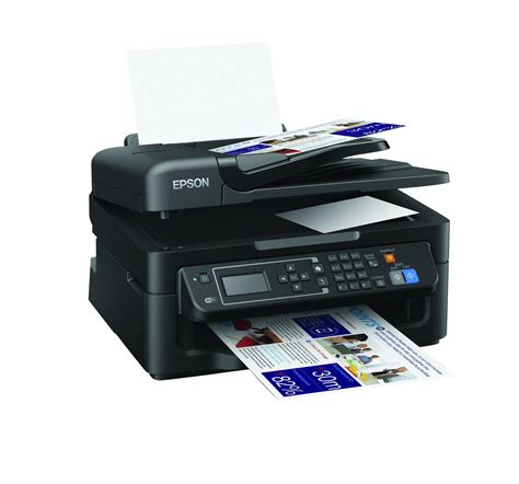 Printer Epson New epson workforce wf 2630 all in one wi fi printer apple airprint cloud new ebay