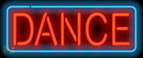 dance neon sign gs   jantec neon