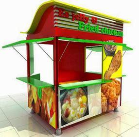 desain gerobak jajanan jasa gerobak waralaba franchise makanan minuman bandung