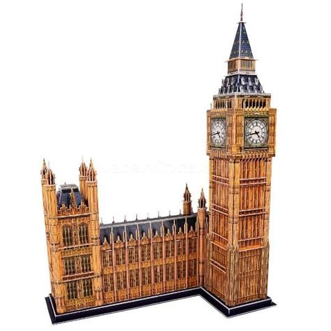 Big Ben Papercraft - fourth grade paper projects worksheets big ben model