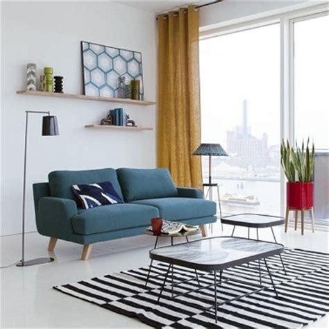 Mettre Un Lit Dans Un Studio by Petit Canap 233 2 Places Dans Un Salon Cosy La Redoute