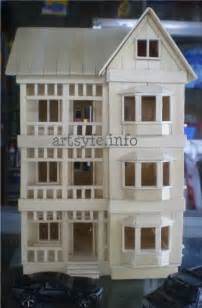 popsicle sticks house creations collections