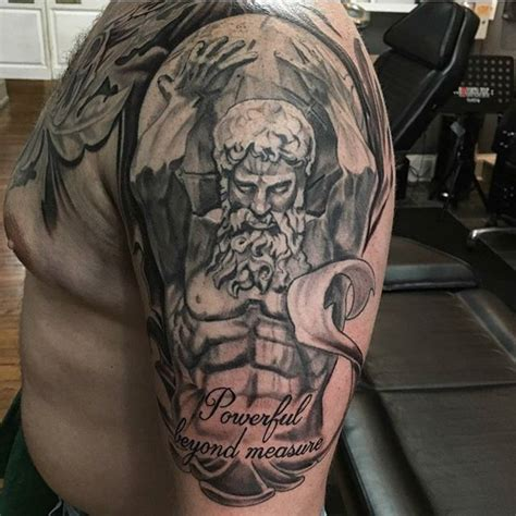 atlas the titan tattoo by jason nicholson at double deez