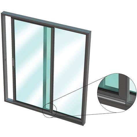 Sliding Door Frame by Is5111si For Aluminium Sliding Door In An Aluminium Frame