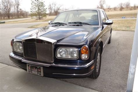 Rolls Royce Garage Indianapolis by Buy Used Special Order Silver Seraph In Indianapolis