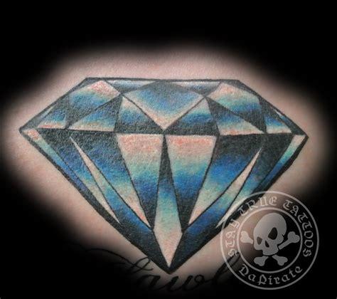 tattoo diamond blue diamond stay true tattoos