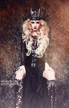 fantasy leather crown dark queen by aetherwerk she s a fantasy leather crown quot dark queen quot gothic evil queens