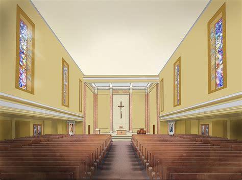 catholic church interior design graphic design plamen petrov