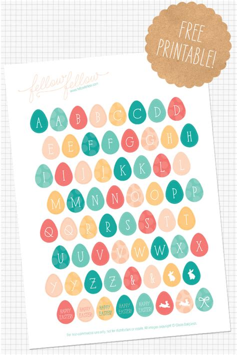 printable easter stickers 20 free easter printables our handcrafted life