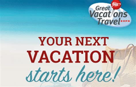 aaa travel aaa great vacations travel expo sunny 95