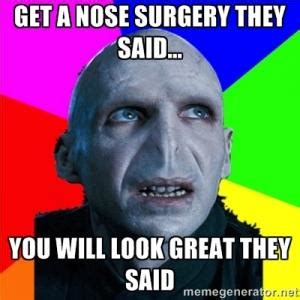 Nose Meme - plastic surgery fail kappit