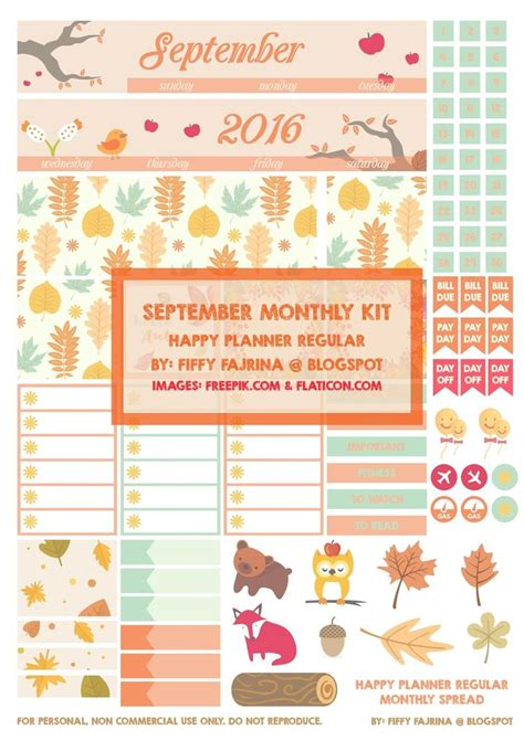 free printable planner kits 1000 ideas about monthly planner printable on pinterest