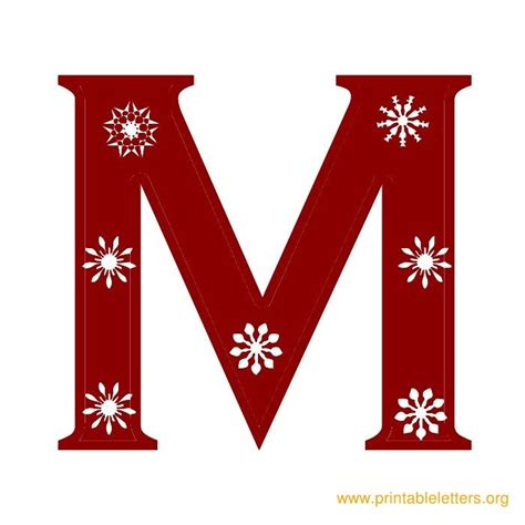 printable christmas letters
