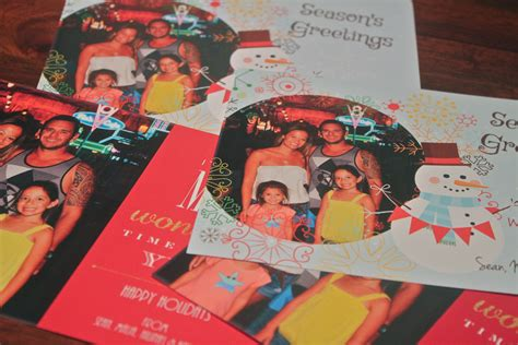 Free Hp Gift Card - create print holiday cards at home with the free hp photo creations software livin