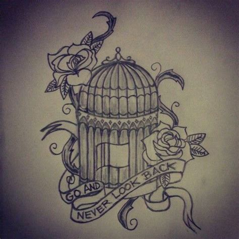 bird cage tattoo designs bird cage covered in ink