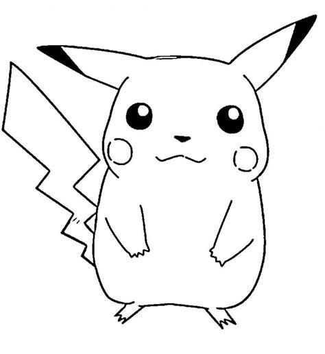 pikachu ex coloring pages dibujos de pikachu para colorear e imprimir gratis
