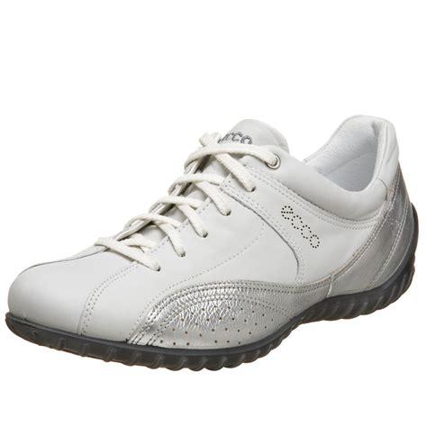 ecco walking shoes ecco ecco womens charm tie walking shoe in white white