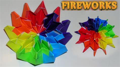 Origami Fireworks Diagram - origami fireworks by yami yamauchi