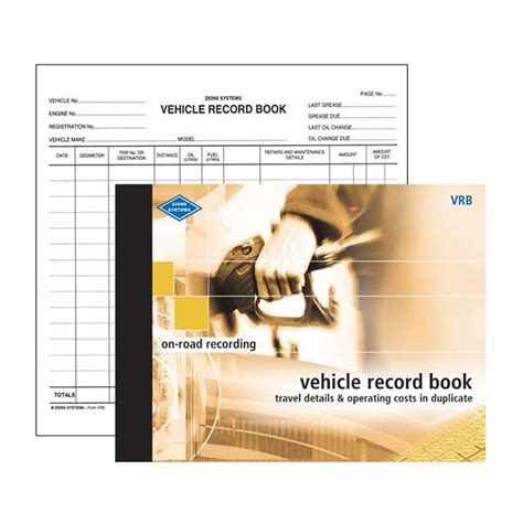 Vehicle Records Vehicle Log Books