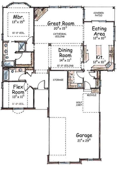 icf floor plans icf house plan 40761db 1st floor master suite den