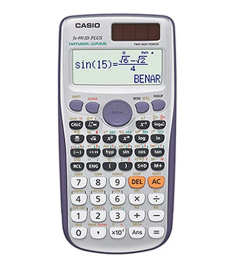 Casio Kalkulator Fx 991 Id Plus Scientific Calculator Casio jual kalkulator casio fx 991 id plus scientific calculator