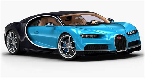 model of bugatti 3d 2017 bugatti chiron model