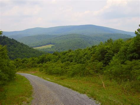 Blue Knob Mountain by Blue Knob Pennsylvania