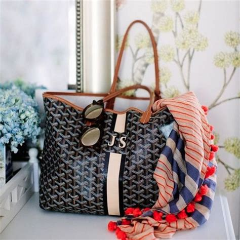 goyard tote bags personalized designer handbags that can be monogrammed spotted fashion