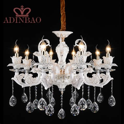 White And Silver Chandelier Aliexpress Buy Modern K9 Chandelier Silver