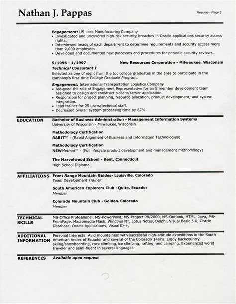 On The Job Training Resume Examples by 100 On The Job Training Resume Examples Unforgettable