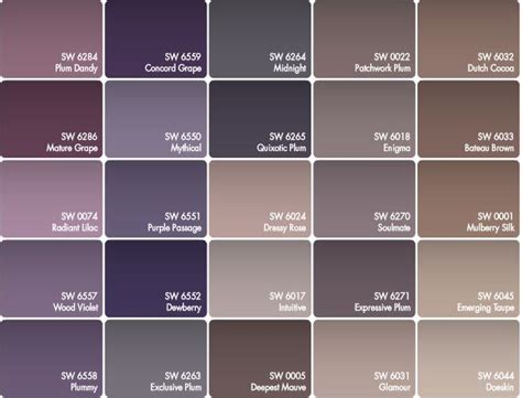 purple paint colors 25 best ideas about purple paint colors on pinterest