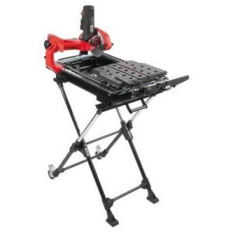 husky 7 in tile saw with laser and stand discontinued