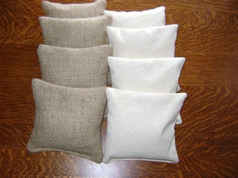 canvas bean bag toss burlap canvas bean bags 8 tailgate toss