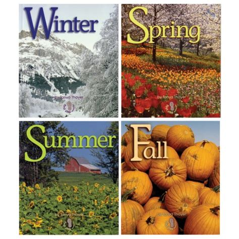 a season in my books four seasons book set for small