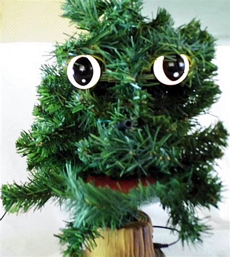 douglas fir christmas tree singing douglas fir animatronic singing tree ebay